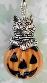 Kitty in a Pumpkin..available at JoanMiller.com
