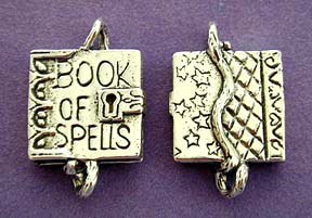 Book of Spells Charm