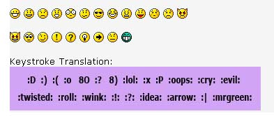 Smileys Translator