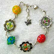 Heather  Trimlett Beads Bracelet